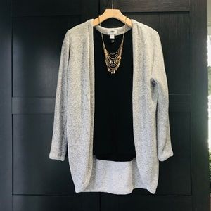 Old Navy I Knit Cardigan Light Grey Gray